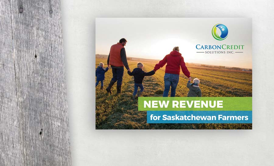 image of Carbon Credit Solutions postcard